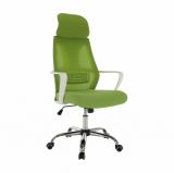 Kancelářské křeslo TAXIS, zelená/ biela
