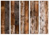Paraván starožitná drevené dosky II 5tich dielny