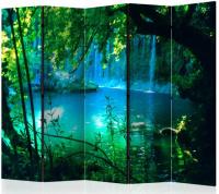 Paraván vodopády Kursunlu II 5tich dielny