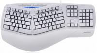 drátová klávesnice dělená Perixx PERIBOARD 312 US 2x USB Hub (11405)