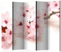 Paraván višňové květy 5ti dílný