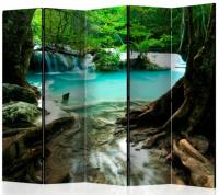 Paraván křišťálově čistá voda 5ti dílný