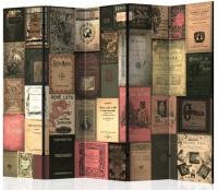 Paraván knižnej raj 5tich dielny