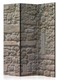 Paraván kamenný chrám 3 dielny
