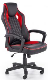 Kancelárske kreslo Baffin čierno / červená
