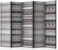 Paraván etnický vzor II 5tich dielny