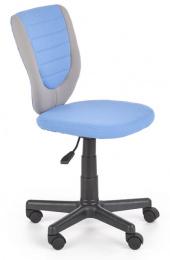 Detská stolička Toby sivá/modrá