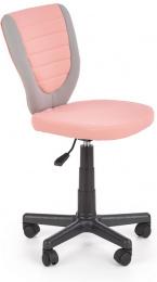 Detská stolička Toby sivá/ružová