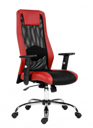 kancelárska stolička SANDER červená