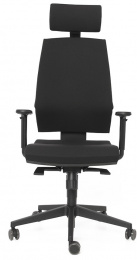 Kancelářska stolička STREAM 285-SYS černá skladová