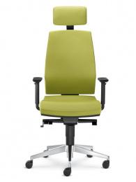 Kancelářská STREAM 285-SYS zeleno-šedá skladová