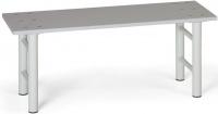 Šatní lavice 1,5 m, lamino, sv.šedá podnož