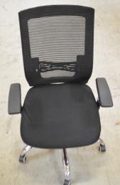 kancelárska stolička MARIKA YH-6068H čierna č.AOJ621