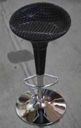 barová stolička PEDRO čierna č.AOJ651