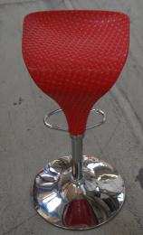 barová stolička červená PEDRO č.AOJ650