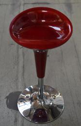 barová stolička červená EMILIO č.AOJ652