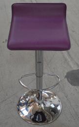 barová stolička fialová