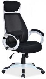 kancelářské křeslo Q409 bílo-černé