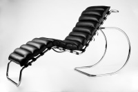 Relaxační křeslo D-001 Lazy černé, č. AOJ724