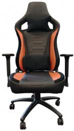 Herní černo-oranžová č.AOJ737