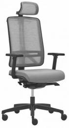kancelárska stolička FLEXI FX 1104 šedá SKLADOVÁ