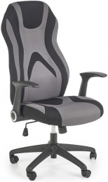 kancelárské kreslo JOFREY sivé/ čierne