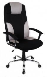 kancelářské křeslo MIAMI světle šedá-černá č.AOJ794S