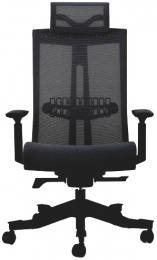kancelárská stolička S6 černá