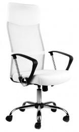 kancelárska stolička Alberta biela