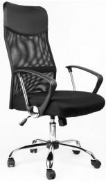 kancelárska stolička Alberta Plus čierná