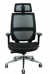 kancelárská stolička TAURUS JNS-426A, čierna W11