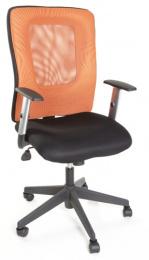 kancelářská HANZ oranžovo černý, č. AOJ910S