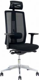 kancelářská Spirit černá č.AOJ914