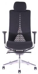 kancelárská stolička EGO černá SKLADOVÁ