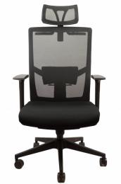 kancelářská MARIKA YH-6068H černá č.AOJ929S