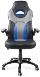 kancelářské křeslo MARANELLO černo-modré č.AOJ948S