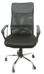 kancelárska stolička PREZIDENT čierna č.AOJ1017
