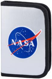 Školní penál klasik dvě chlopně NASA