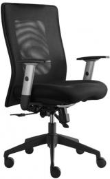 kancelářská LEXA bez podhlavníku, černá, č. AOJ1046
