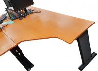 rohový stůl 160x78x110 cm PRAVÝ, č. AOJ1136