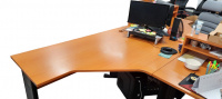 rohový stůl 160x78x110 cm LEVÝ, č. AOJ1137