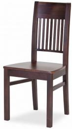 Jedálenská stolička Samba P masív BIELA