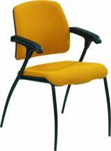 židle OMEGA, kostra černá kancelárská stolička
