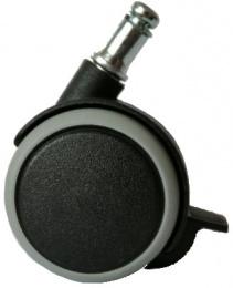 sada koleček čep 11mm s manuální brzdou