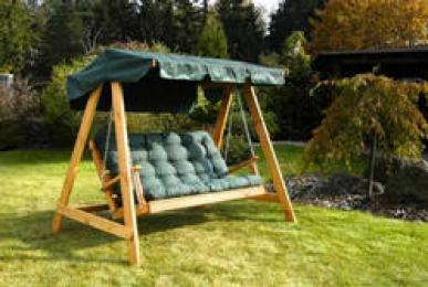 zahradní houpací lavice SWING 150