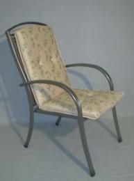 Polstr na židli vysoký rovný U302