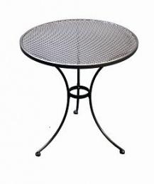 Kovový záhradný stôl TAKO 70cm - U501 guľatý