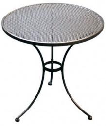 Kovový zahradní stůl TAKO 70cm - U501 kulatý