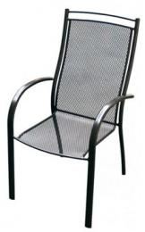 zahradná stolička kovová ELTON U007